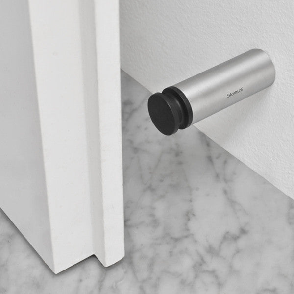 Blomus ENTRA Wall Mounted Door Stop Stainless Steel Matt 8 cm