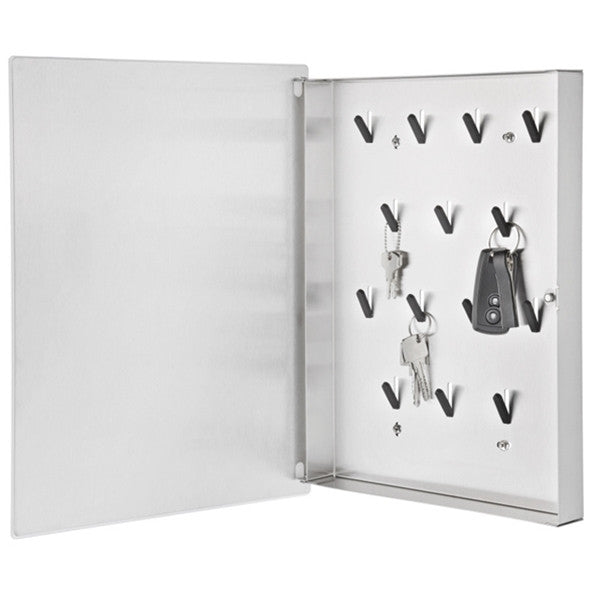Blomus VELIO Key Box Glass Magnet Board White 40 X 30 cm