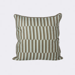 ferm LIVING Arch Cushion Blue/Brown