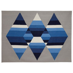 Aimée Wilder Prism Glacier Three Diamond Rug