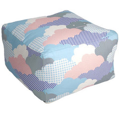 Aimée Wilder Clouds Sunshine Pouf
