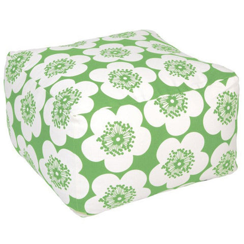 Aimée Wilder Pop Floral Leaf Pouf