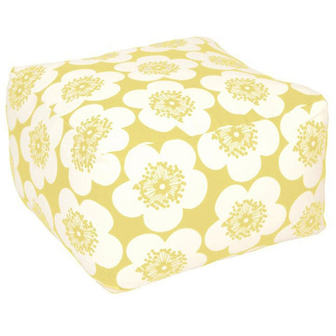 Aimée Wilder Pop Floral Lemon Pouf