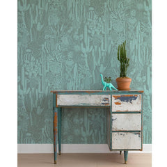 Aimée Wilder Wallpaper Cactus Spirit Sage
