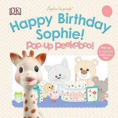 Sophie La Girafe Pop-up Peekaboo Happy Birthday Sophie!