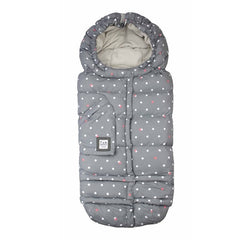 7 A.M. Blanket 212 Evolution Grey Dots