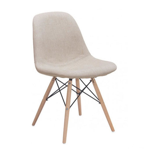 Zuo Selfie Dining Chair Beige