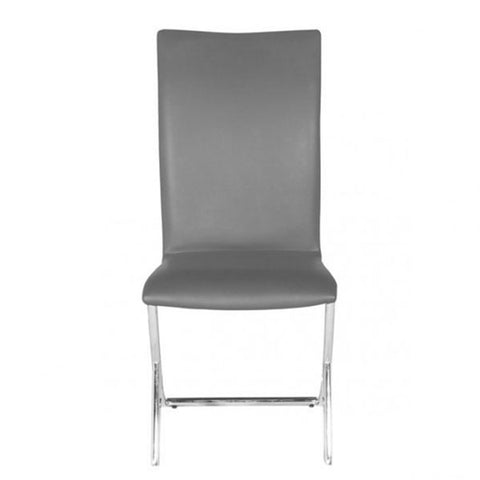 Zuo Delfin Dining Chair Gray