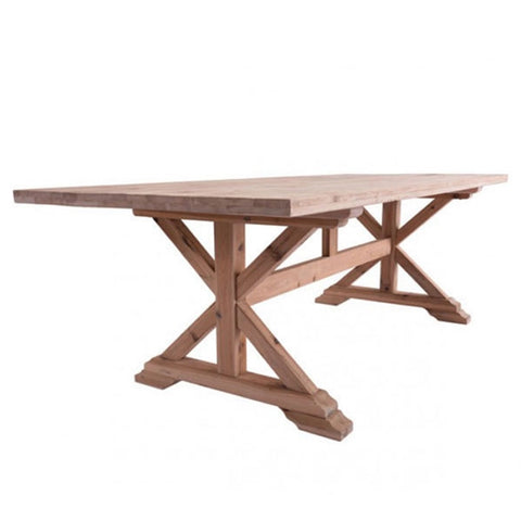 Zuo Alliance Dining Table Natural Fir