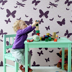 ferm LIVING Wallpaper Butterflies No. 504