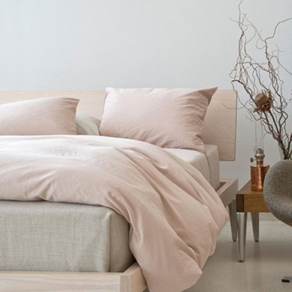 Area Bedding Perla Powder Full/Queen Flat Sheet