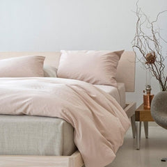 Area Bedding Perla Powder King Pillow Cases