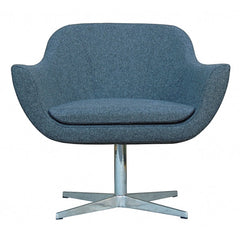 B&T Green Camira Wool Lounge Chair by Nuans Design