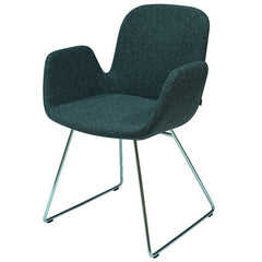 B&T Daisy Wool Arm Chair by Nuans Design