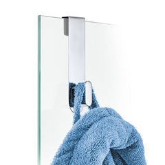 Blomus Areo Shower Door Hook, Polished