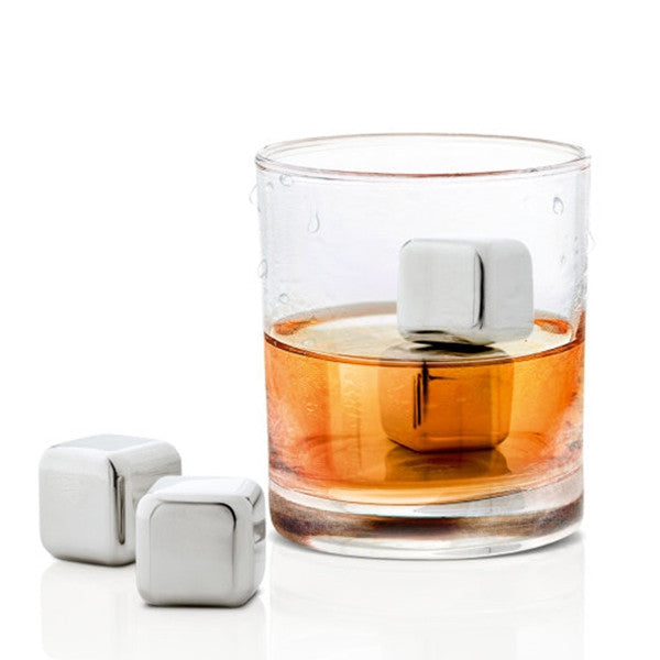 Blomus Lounge 4 Pc Icecube Set Incl. Storage Bag