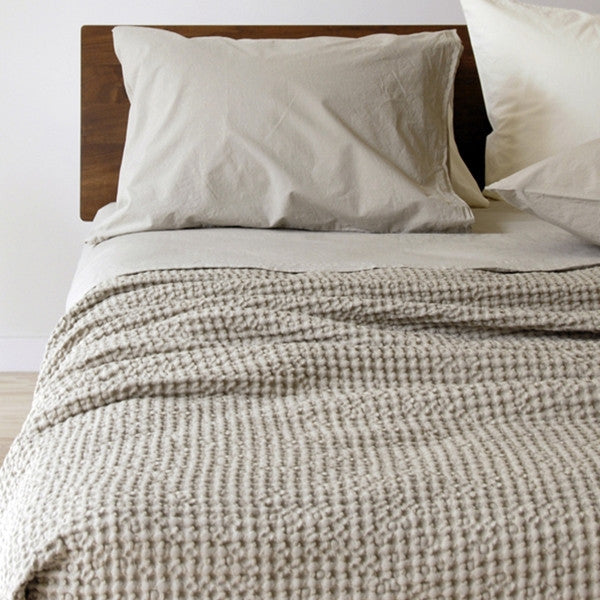 Area Bedding Anton Ivory King Fitted Sheet