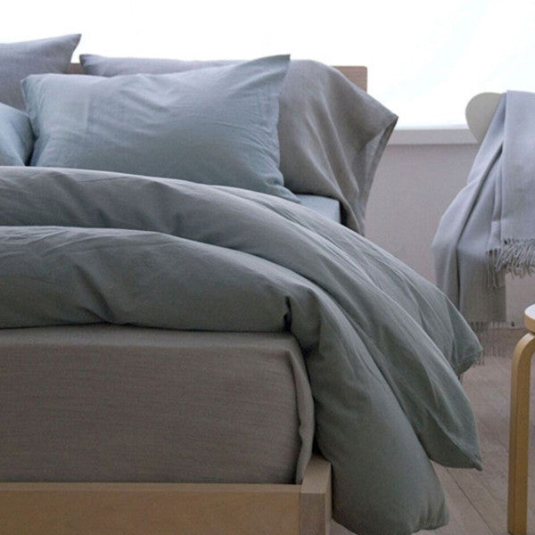 Area Bedding Perla Celeste Full Fitted Sheet
