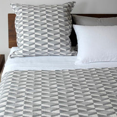 Area Bedding Kline Grey Twin Coverlet