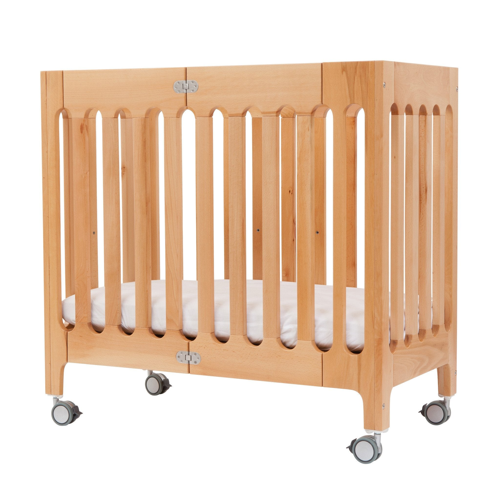Bloom Alma Mini Urban Crib Natural