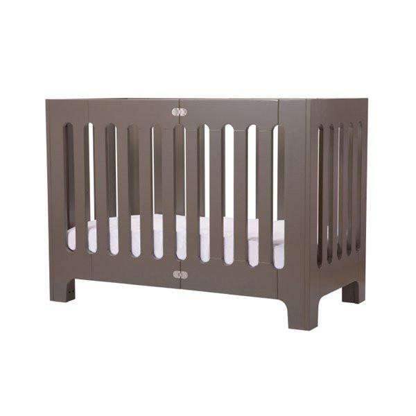 Bloom Alma Papa Crib – Frost Grey