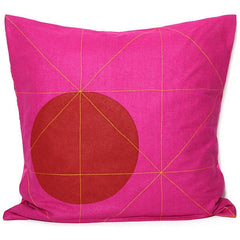 RAJBOORI Pillow – MILON Fuchsia (26'')