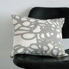 Area Bedding DAISY Pillow Grey