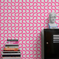 Aimee Wilder Wallpaper Baby Fuschia