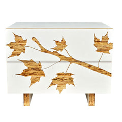 Iannone Trees Graphic Nightstand