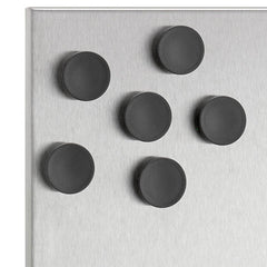 Blomus MURO Set of 6 Magnets Black 2.5 cm