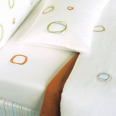 Area Bedding WHITE Mini Organic Fitted Crib Sheet