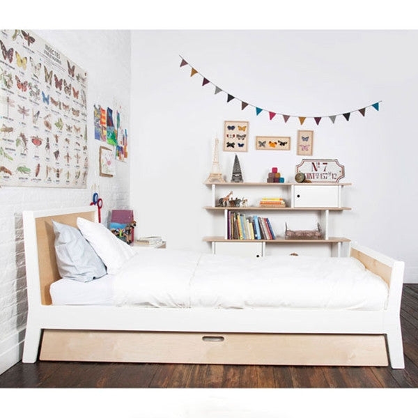 Oeuf Sparrow Twin Bed White