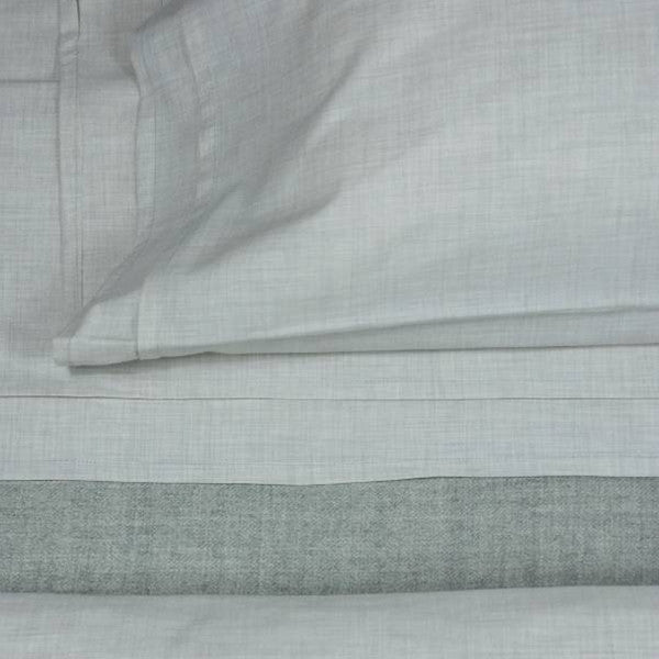 Area Bedding HEATHER Cement Duvet Cover - King