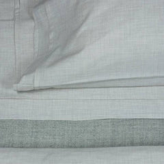 Area Bedding HEATHER Cement Pillow Cases Standard