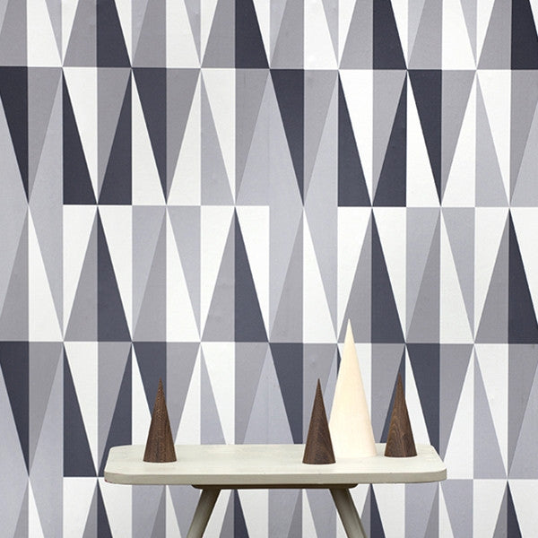 ferm LIVING Wallpaper - Spear Grey No. 152