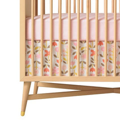 DwellStudio Crib Skirt ROSETTE Blossom