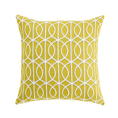 DwellStudio Pillow Gate Citrine