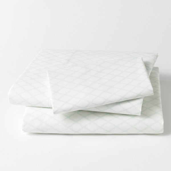 DwellStudio Sheet Set – MARQUISE Robin's Egg - Twin