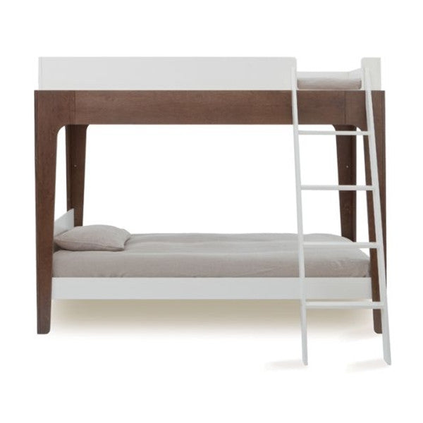 Oeuf Perch Bunk Bed - White/Walnut
