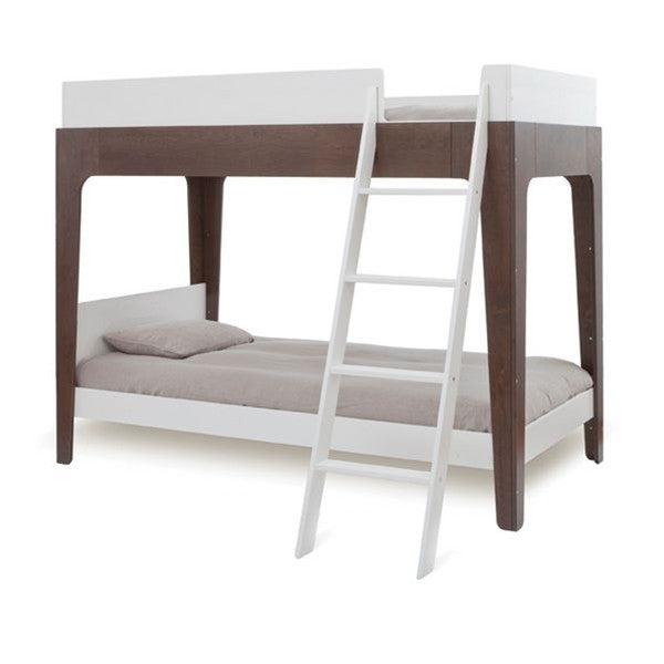Oeuf Perch Bunk Bed White/Walnut