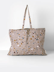 ferm LIVING Tote Bag Terrazzo X Large