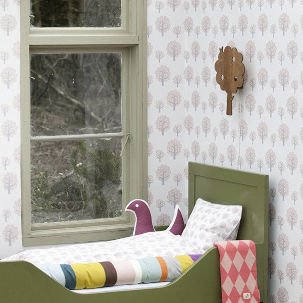 ferm LIVING Wallpaper Dotty Rose No. 511