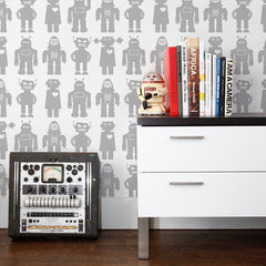 Aimee Wilder Wallpaper Big Robots Tin