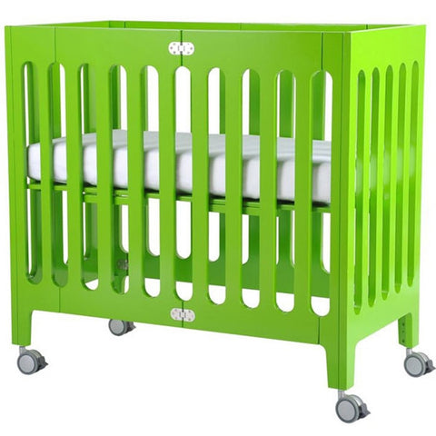 Bloom Alma Mini Urban Crib - Gala Green