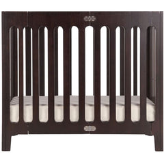 Bloom Alma Mini Urban Crib Cappuccino
