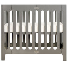 Bloom Alma Mini Urban Crib - Frost Grey