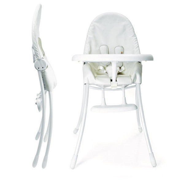 Bloom Nano Matt White Highchair Coconut White