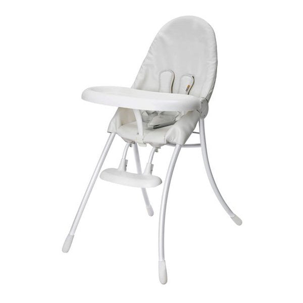 Bloom Nano Matt White Highchair - Coconut White