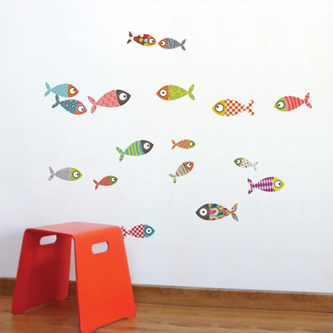 ADzif Wall Sticker Small Fishes