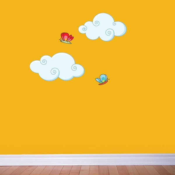 ADzif Wall Sticker Clouds